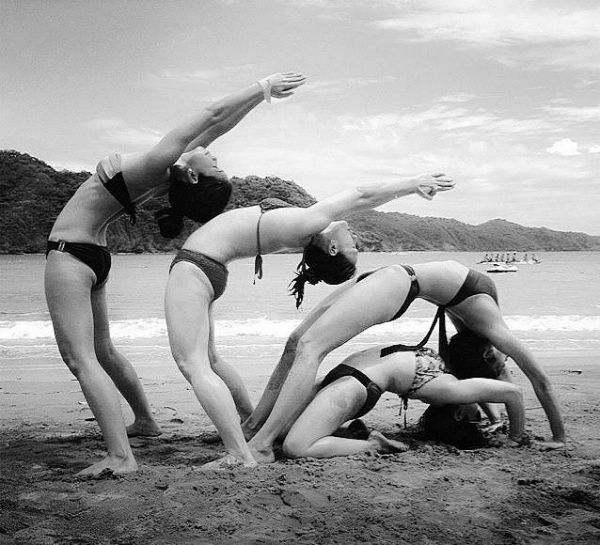 8 Awesome Yogis Practicing with Friends (PHOTOS) -chet