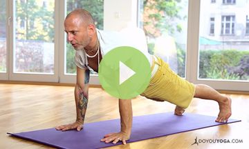 Core Strength Yoga for Men (VIDEO)