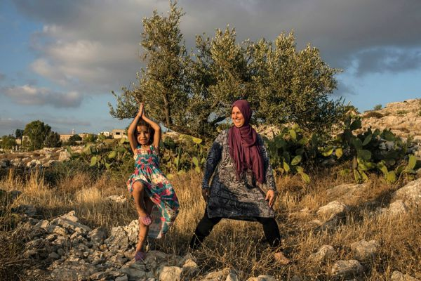 Palestinians Are Turning to Yoga to Manage Stress 2