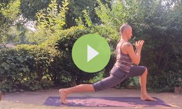 Sun Salutation C Variations to Kick Negativity (VIDEO)