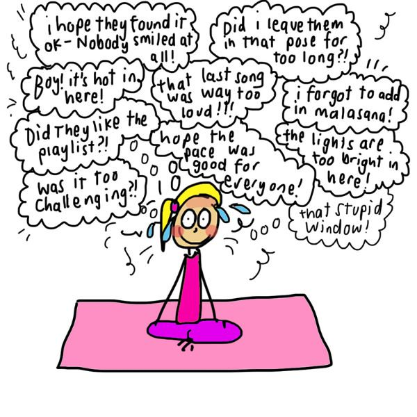 What It's REALLY Like to Teach a Yoga Class (Illustrated) 30