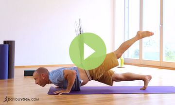 Yoga Style Burpees with Raghunath (VIDEO)