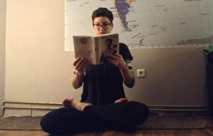 7 Yoga Poses You Can Do While Reading - Lotus Pose