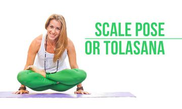 How to Do Scale Pose or Tolasana