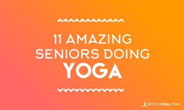 11 Amazing Seniors Doing Yoga