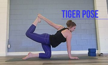 How to Do Tiger Pose
