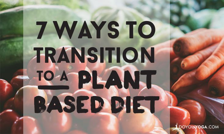 switching to plant based diet dehydration