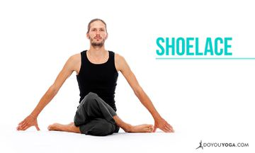 How to do Shoelace Pose
