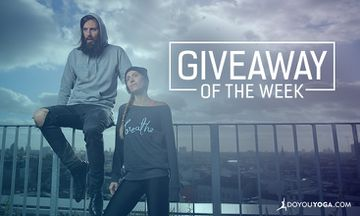 "Giveaway - 3 x One DOYOUYOGA ""Breathe"" Sweatshirt of Your Choice"