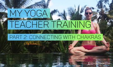 My Yoga Teacher Training in Bali – Week 2 – Connecting With Chakras