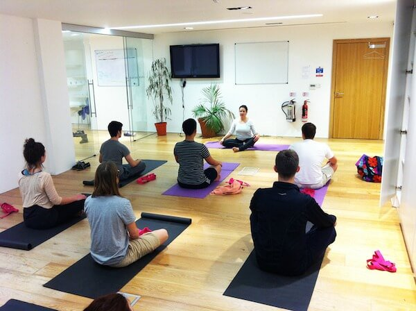 Companies That Offer Yoga - MVF Global