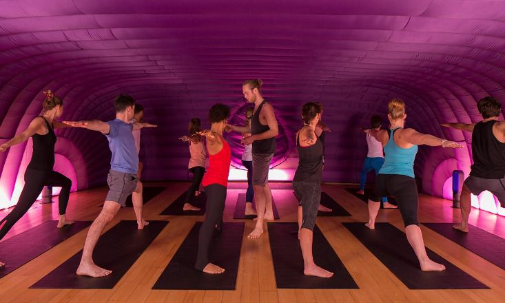 10 Unusual Yoga Classes You Need to Know About