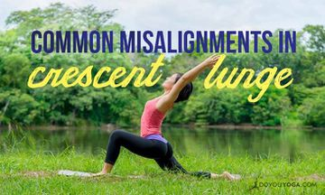 Common Misalignments in Crescent Lunge (and How to Fix Them)