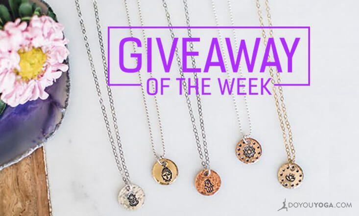 Giveaway - 3 x Stunning Yoga Charm Necklaces by Zenned Out (Worth $45)