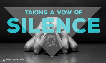 4 Steps to Mouna: Taking a Vow of Silence
