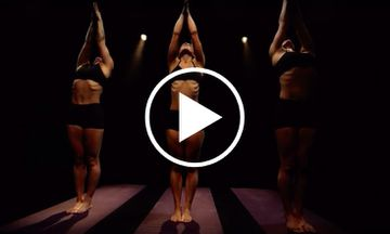 This Haunting Synchronized Yoga Video Will Give You Chills
