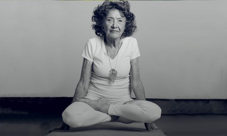 World's Oldest Yoga Teacher Credits Practice to Long Life