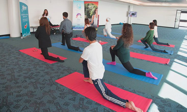 Chile Now On Board With Free Airport Yoga Classes