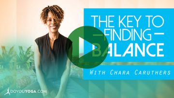 The Key To Finding Balance - Part One