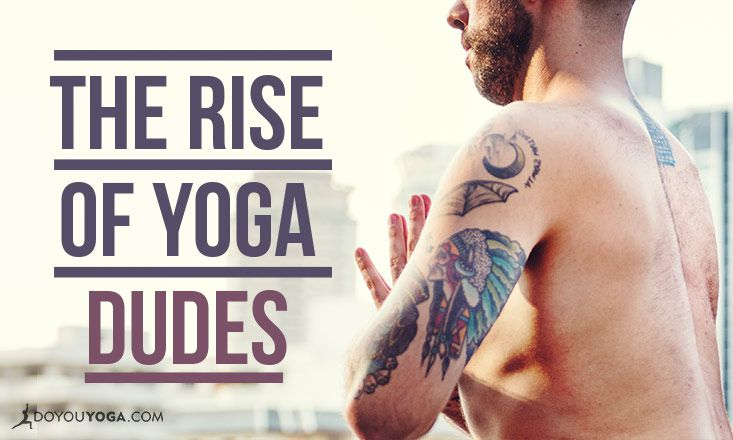 Study Shows More Men are Doing Yoga