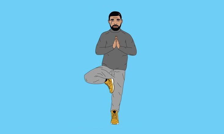 Hold On We're Going Om With Namasdrake - LA's Drake-Themed Vinyasa Yoga Class