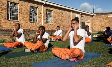 Mindfulness Yoga Brings Peace to South Africa's Prisons