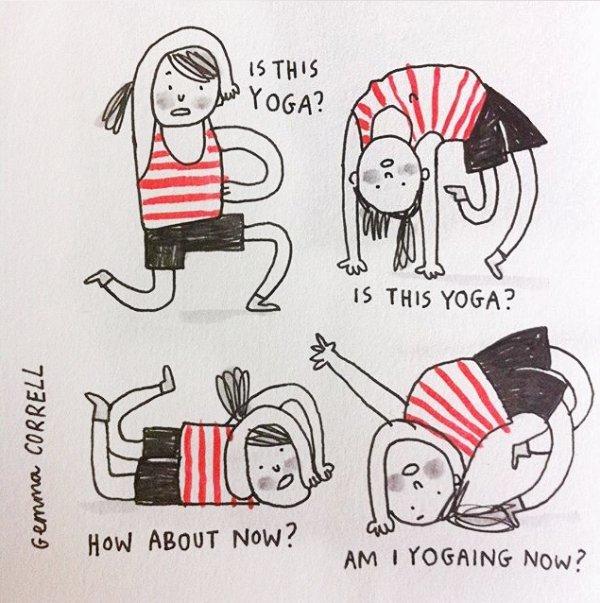 hilarious yoga memes 5