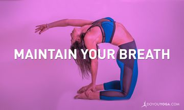 How to Maintain Your Breath in a Fast-Paced Practice