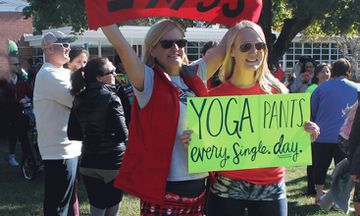 Yoga Pants Parade: Women Respond To A Man Telling Them Not To Wear Yoga Pants
