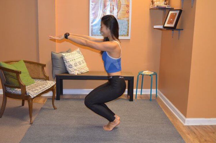 Yoga-Poses-to-Burn-Off-All-Your-New-Thanksgiving-Weight-chair-variation