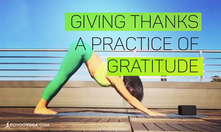Giving Thanks: A Practice of Gratitude