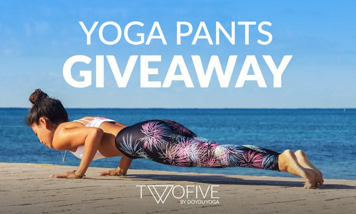 Giveaway – Limited Edition Yoga Pants by △TWOFIVE△
