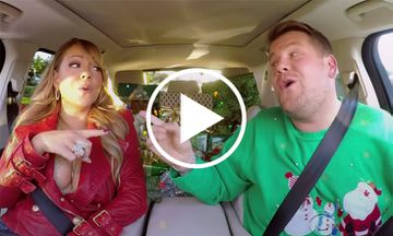 Here's The Christmas Carpool Karaoke Everyone's Talking About (VIDEO)