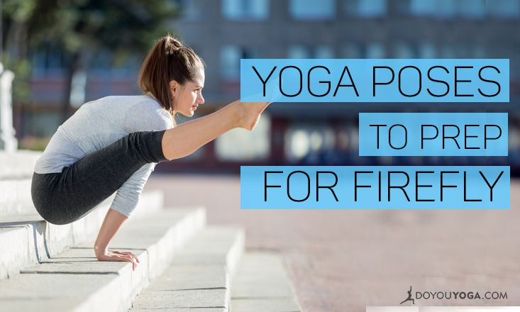 4 Poses to Practice and Prep for Firefly Pose