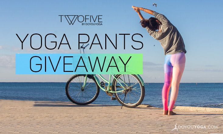 Giveaway – 3 x Limited Edition Yoga Pants by △TWOFIVE△