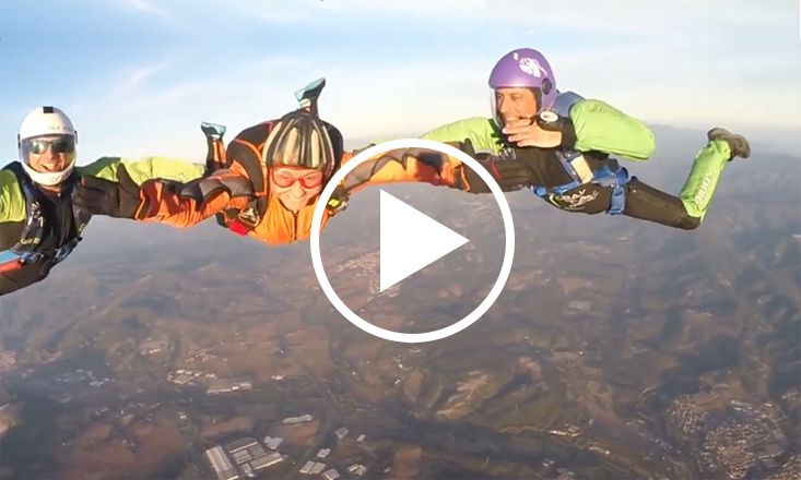 This Inspiring Woman is 83 And Still Skydiving (VIDEO)