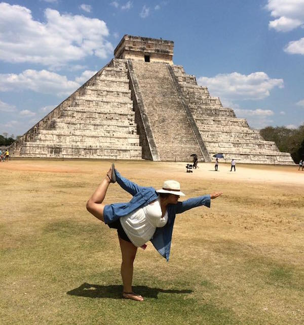 YATW - Desiree Vargas at Chichen Itza in the Yucatan, Mexico