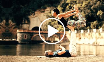 Inspiring AcroYoga Demo Shows the Importance of Connection (VIDEO)