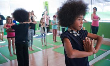 11-Year-Old Tabay Atkins is Now the Youngest Certified Yoga Teacher in the US