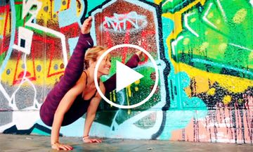 Around the World Yoga Demo with Kino MacGregor (VIDEO)