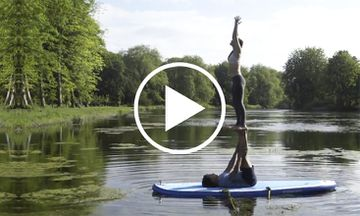 This SUP AcroYoga Demo is Meditation in Motion (VIDEO)