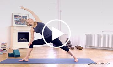 A Refreshing Morning Yoga Routine for Beginners (VIDEO)