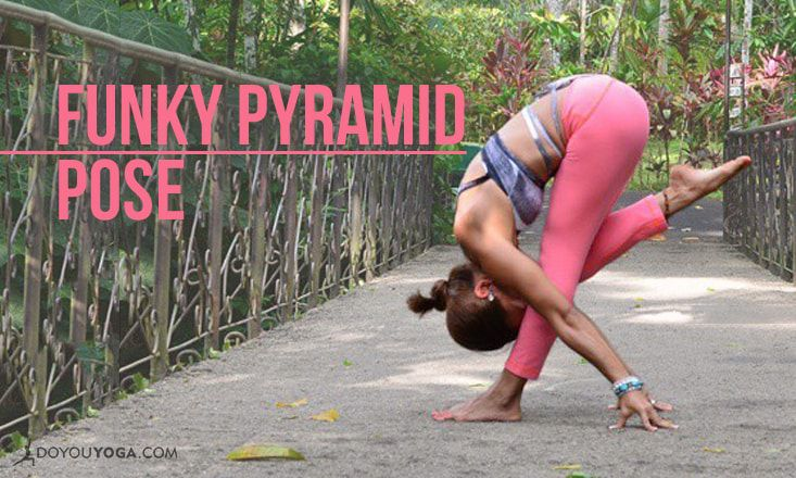 How to Do Funky Pyramid Pose (With Photos)