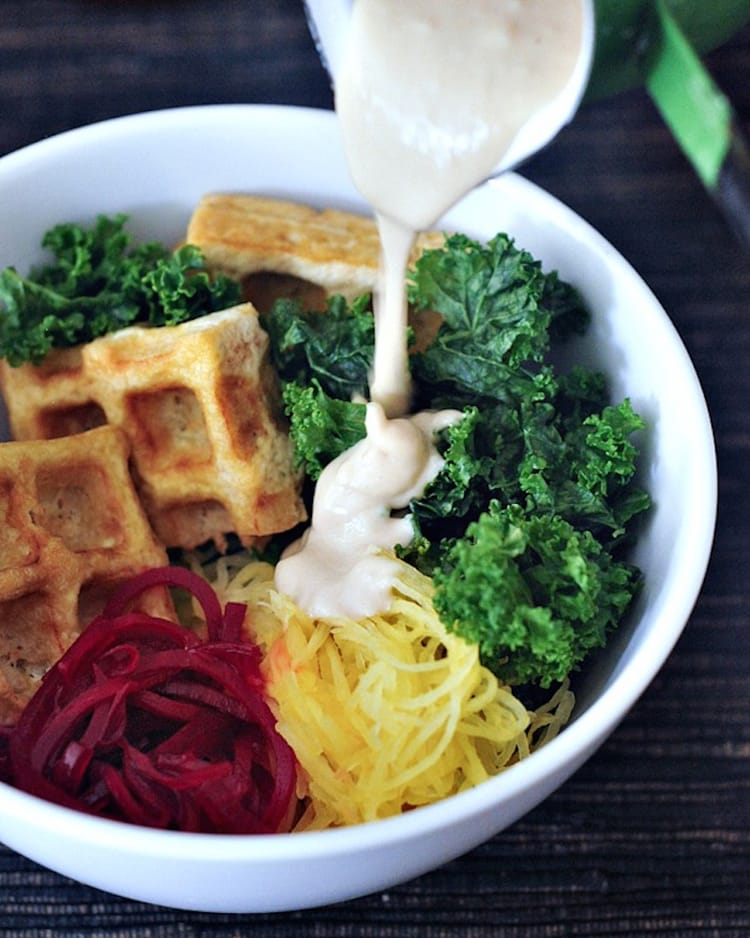 Day3DinnerVibrant-Spaghetti-Squash-Bowl-with-Smoky-Waffled-Tofu-spabettie-1